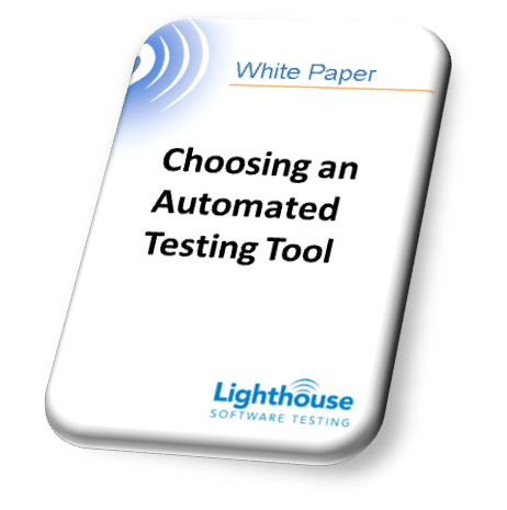Choosing an Automated Testing Tool