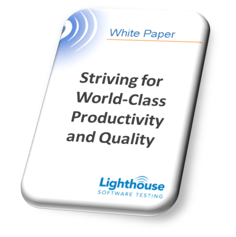 Striving for World-Class Productivity and Quality